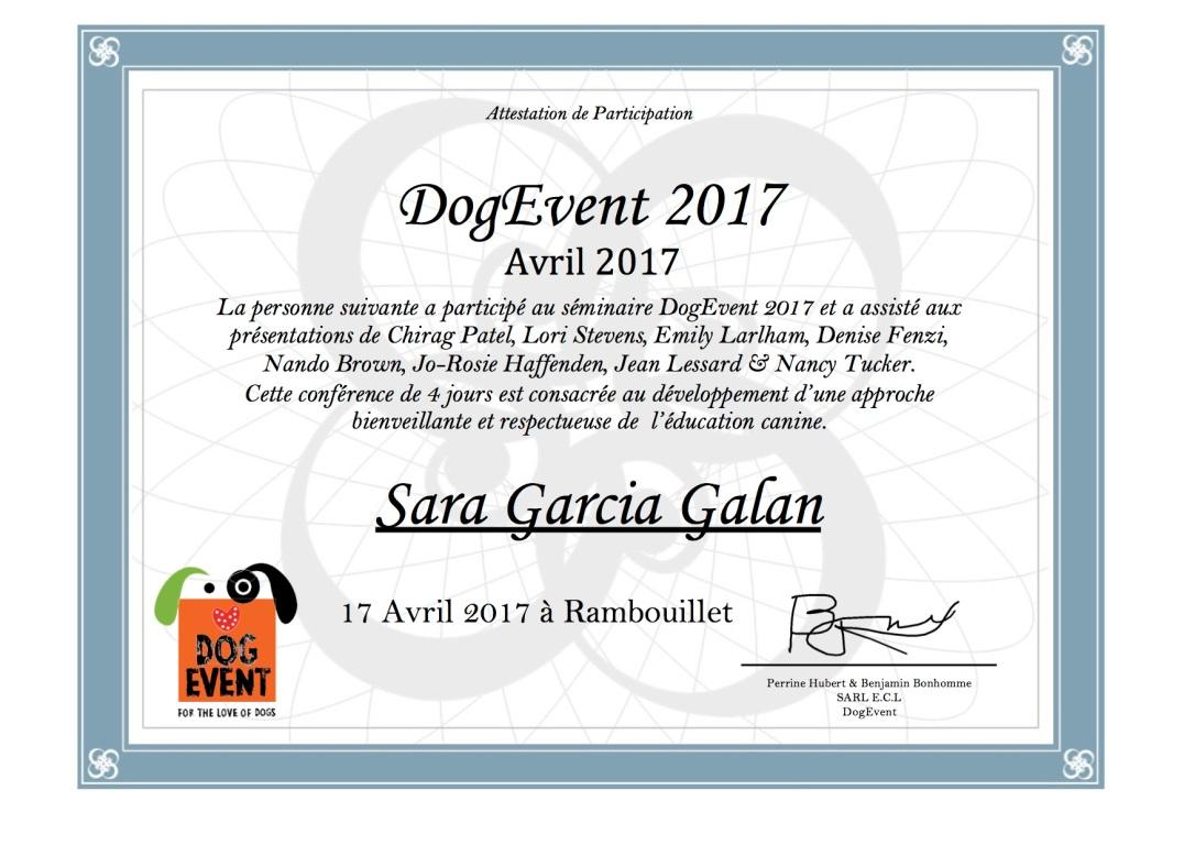 sara garcia galan dogevent 2017
